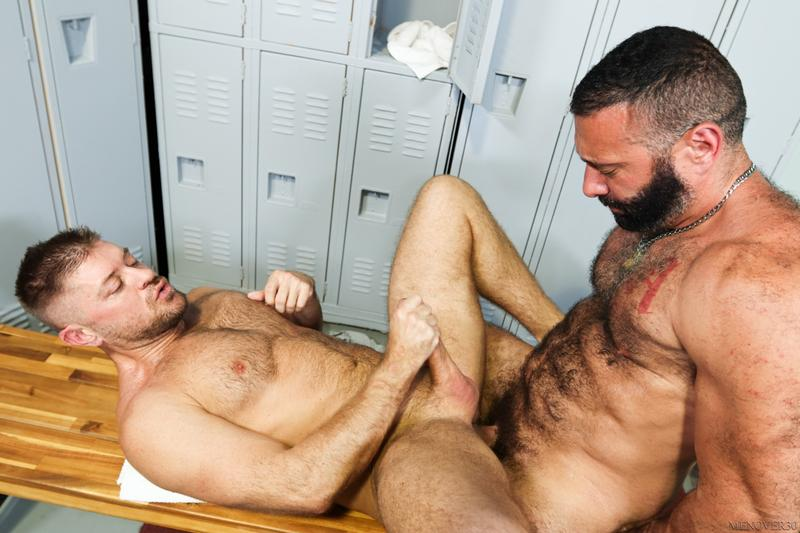 Sexy hairy older dude Alex Tikas uncut dick barebacking Jack Andy tight asshole Men Over 30 14 image gay porn - Sexy hairy older dude Alex Tikas's uncut dick barebacking Jack Andy's tight asshole at Men Over 30