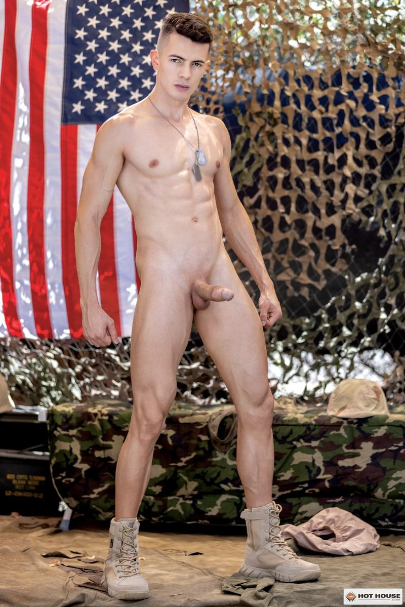 Sexy young army stud Eric Rey hot hole bareback fucked ripped hunk Dalton Riley Hot House 7 image gay porn - Sexy young army stud Eric Rey's hot hole bareback fucked by ripped hunk Dalton Riley at Hot House