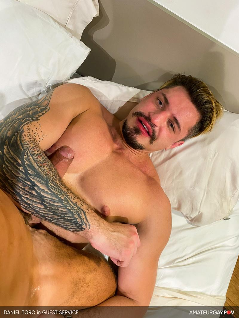 Amateur Gay POV horny older hunk Manuel Skye huge raw dick bare fucking young muscle hottie Daniel Toro 15 image gay porn - Amateur Gay POV horny older hunk Manuel Skye's huge raw dick bare fucking young muscle hottie Daniel Toro