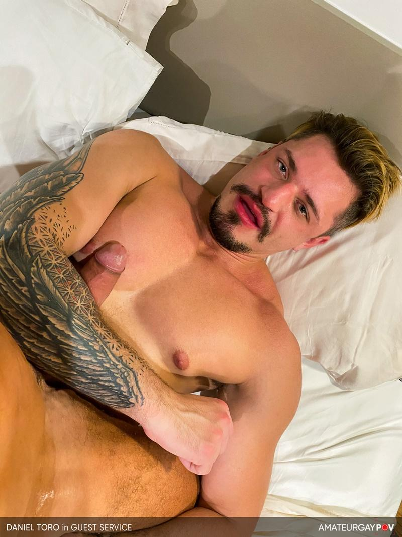 Amateur Gay POV horny older hunk Manuel Skye huge raw dick bare fucking young muscle hottie Daniel Toro 16 image gay porn - Amateur Gay POV horny older hunk Manuel Skye's huge raw dick bare fucking young muscle hottie Daniel Toro
