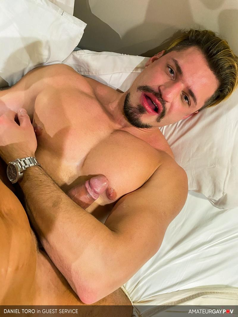 Amateur Gay POV horny older hunk Manuel Skye huge raw dick bare fucking young muscle hottie Daniel Toro 17 image gay porn - Amateur Gay POV horny older hunk Manuel Skye's huge raw dick bare fucking young muscle hottie Daniel Toro