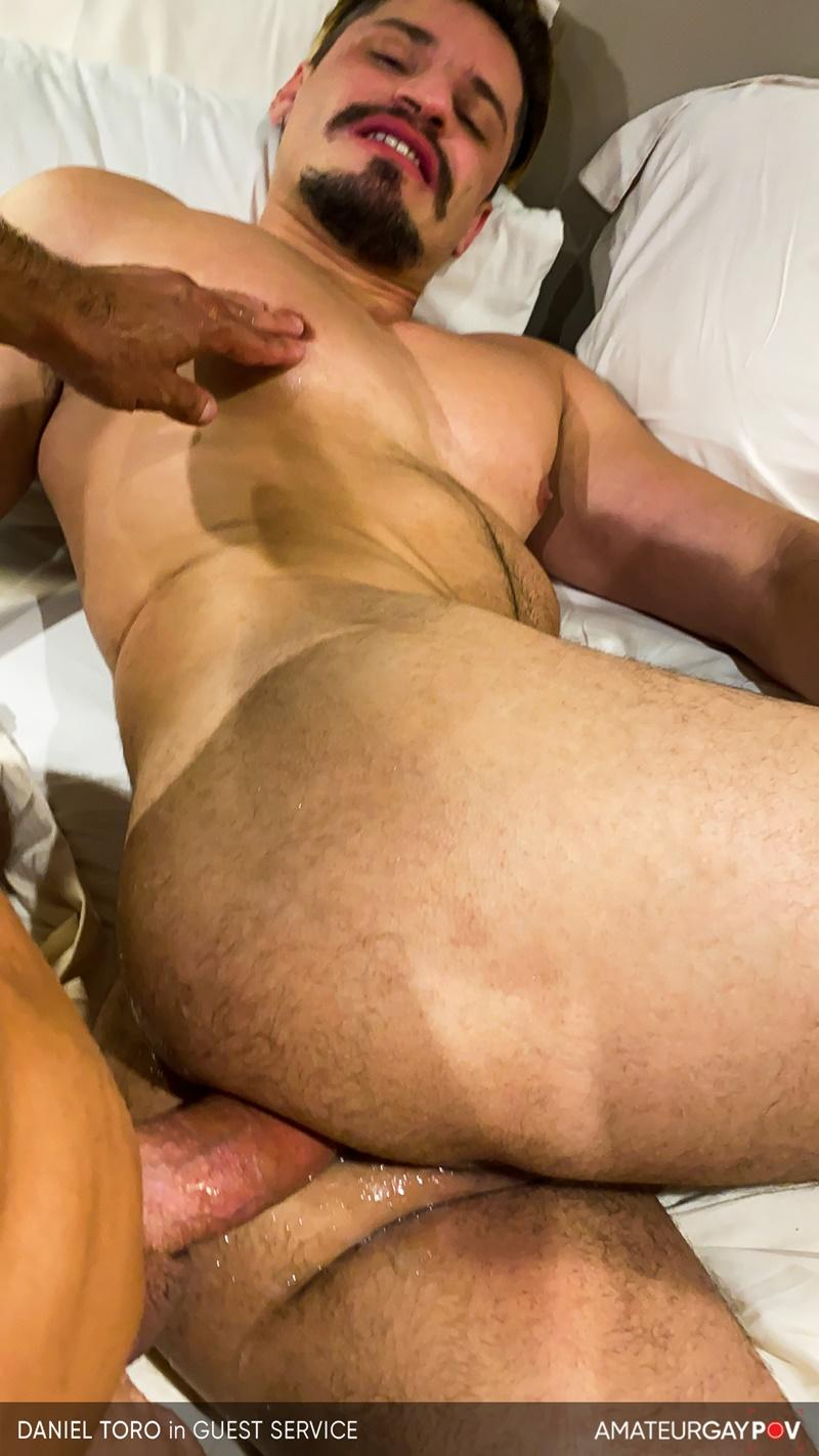 Amateur Gay POV horny older hunk Manuel Skye huge raw dick bare fucking young muscle hottie Daniel Toro 20 image gay porn - Amateur Gay POV horny older hunk Manuel Skye's huge raw dick bare fucking young muscle hottie Daniel Toro