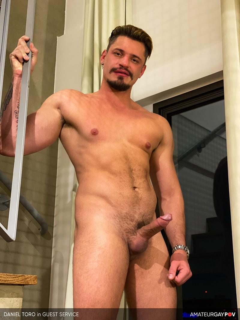 Amateur Gay POV horny older hunk Manuel Skye huge raw dick bare fucking young muscle hottie Daniel Toro 3 image gay porn - Amateur Gay POV horny older hunk Manuel Skye's huge raw dick bare fucking young muscle hottie Daniel Toro