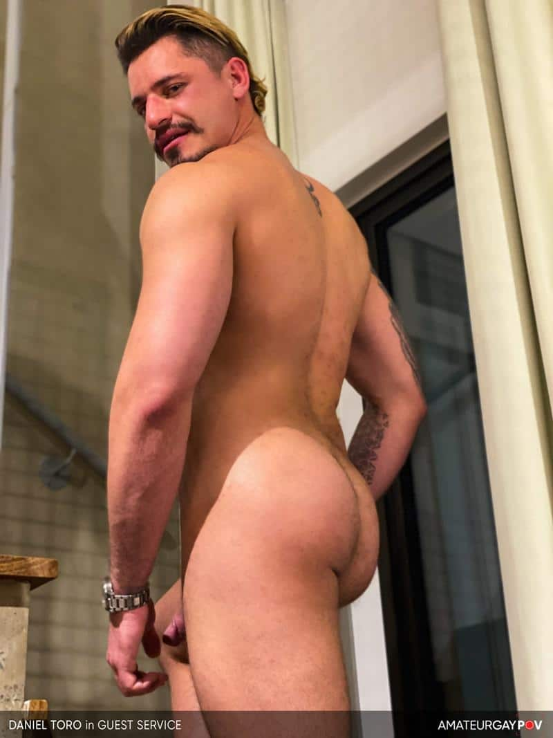 Amateur Gay POV horny older hunk Manuel Skye huge raw dick bare fucking young muscle hottie Daniel Toro 6 image gay porn - Amateur Gay POV horny older hunk Manuel Skye's huge raw dick bare fucking young muscle hottie Daniel Toro