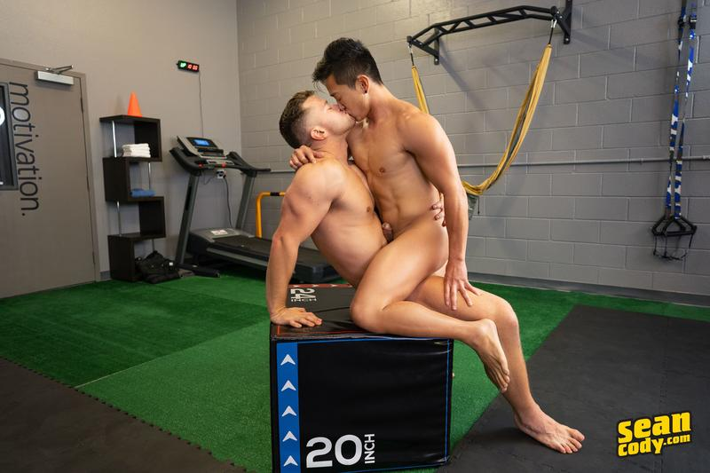 Hottie Asian stud Dale hot bubble ass raw fucked horny muscle boy Deacon huge raw cock 12 image gay porn - Hottie Asian stud Dale's hot bubble ass raw fucked by horny muscle boy Deacon's huge raw cock
