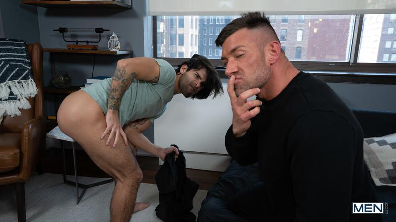 Men sexy young Latin dude Ty Mitchell bare asshole raw fucked muscle hunk Bruce Beckham 15 image gay porn - Men sexy young Latin dude Ty Mitchell's bare asshole raw fucked by muscle hunk Bruce Beckham
