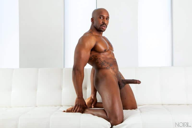 Noir Male ebony muscle man Max Konnor massive black cock barebacking hottie Latino Armond Rizzo 4 image gay porn - Noir Male ebony muscle man Max Konnor's massive black cock barebacking hottie Latino Armond Rizzo