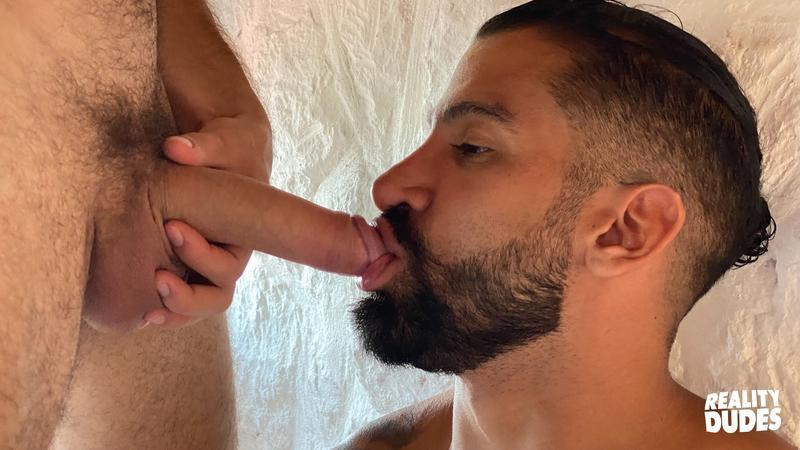Reality Dudes hottie young bearded stud Rob Campos big raw cock bare fucking Latino hunk Octavio 12 image gay porn - Reality Dudes hottie young bearded stud Rob Campos's big raw cock bare fucking Latino hunk Octavio