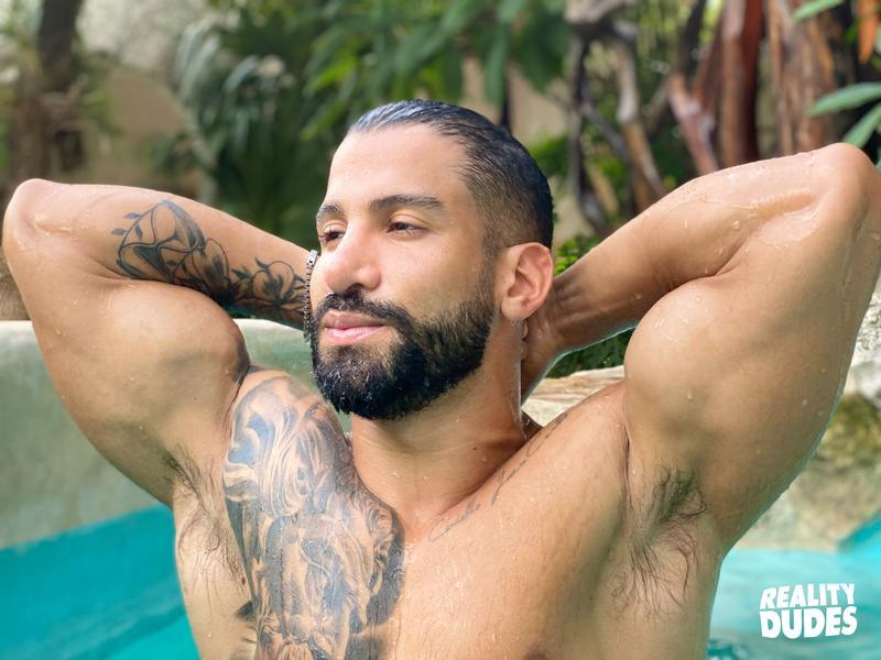 Reality Dudes hottie young bearded stud Rob Campos big raw cock bare fucking Latino hunk Octavio 3 image gay porn - Reality Dudes hottie young bearded stud Rob Campos's big raw cock bare fucking Latino hunk Octavio