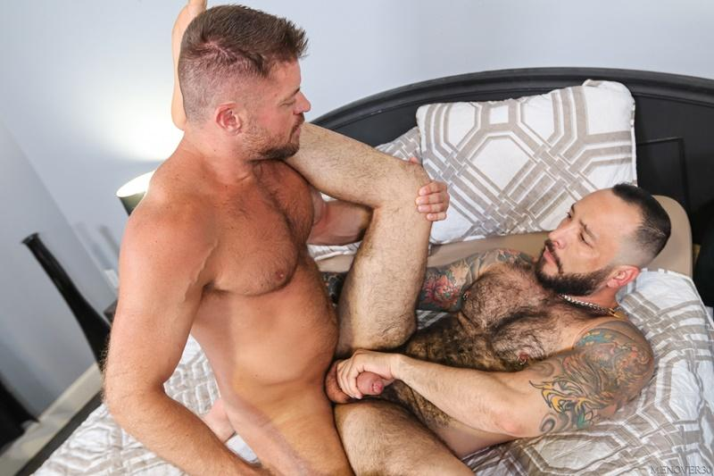 Sexy big muscle bottom Julian Torres hairy ass bare fucked horny stud Jack Andy Men Over 30 10 image gay porn - Sexy big muscle bottom Julian Torres's hairy ass bare fucked by horny stud Jack Andy at Men Over 30