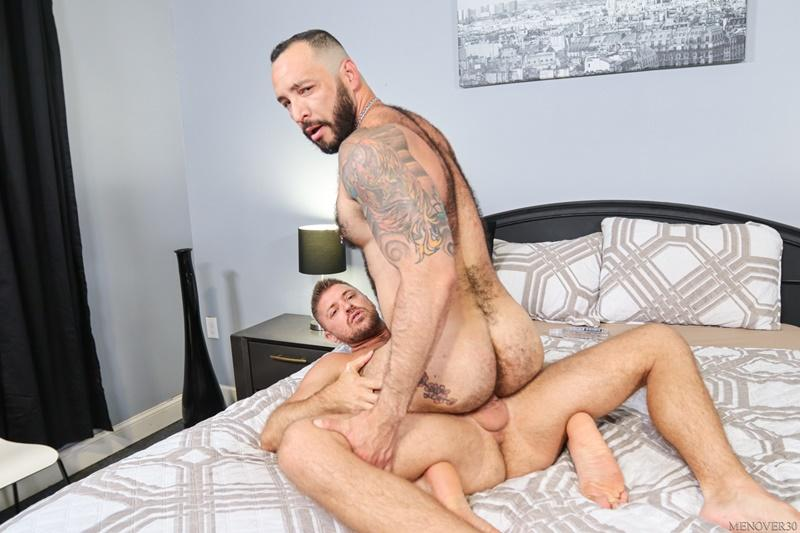 Sexy big muscle bottom Julian Torres hairy ass bare fucked horny stud Jack Andy Men Over 30 12 image gay porn - Sexy big muscle bottom Julian Torres's hairy ass bare fucked by horny stud Jack Andy at Men Over 30