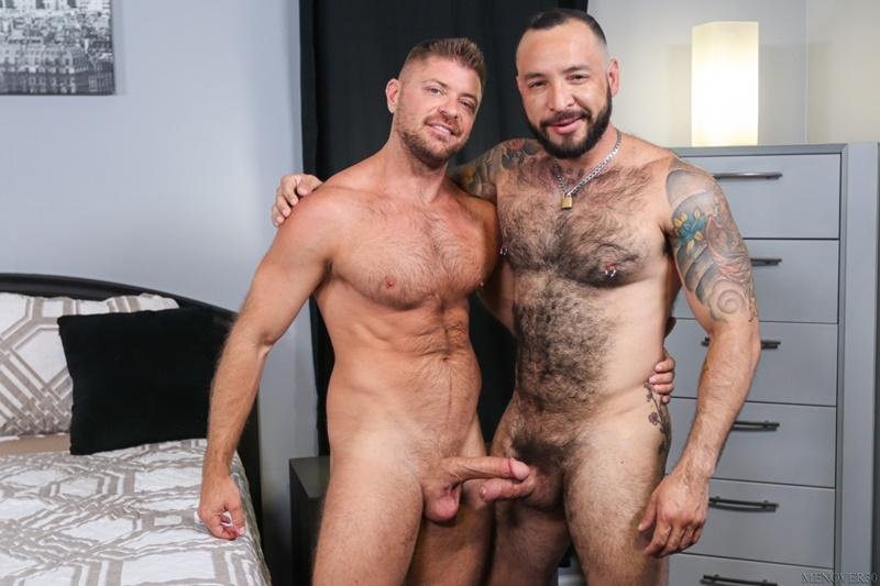 Sexy big muscle bottom Julian Torres hairy ass bare fucked horny stud Jack Andy Men Over 30 2 image gay porn - Sexy big muscle bottom Julian Torres's hairy ass bare fucked by horny stud Jack Andy at Men Over 30