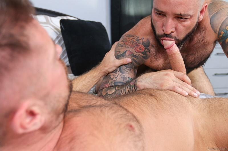 Sexy big muscle bottom Julian Torres hairy ass bare fucked horny stud Jack Andy Men Over 30 4 image gay porn - Sexy big muscle bottom Julian Torres's hairy ass bare fucked by horny stud Jack Andy at Men Over 30