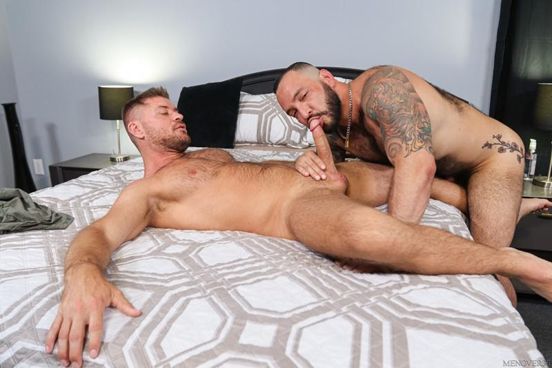 Sexy big muscle bottom Julian Torres hairy ass bare fucked horny stud Jack Andy Men Over 30 5 image gay porn - Sexy big muscle bottom Julian Torres's hairy ass bare fucked by horny stud Jack Andy at Men Over 30