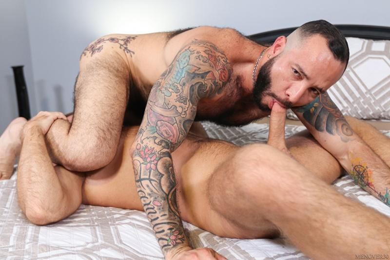 Sexy big muscle bottom Julian Torres hairy ass bare fucked horny stud Jack Andy Men Over 30 6 image gay porn - Sexy big muscle bottom Julian Torres's hairy ass bare fucked by horny stud Jack Andy at Men Over 30