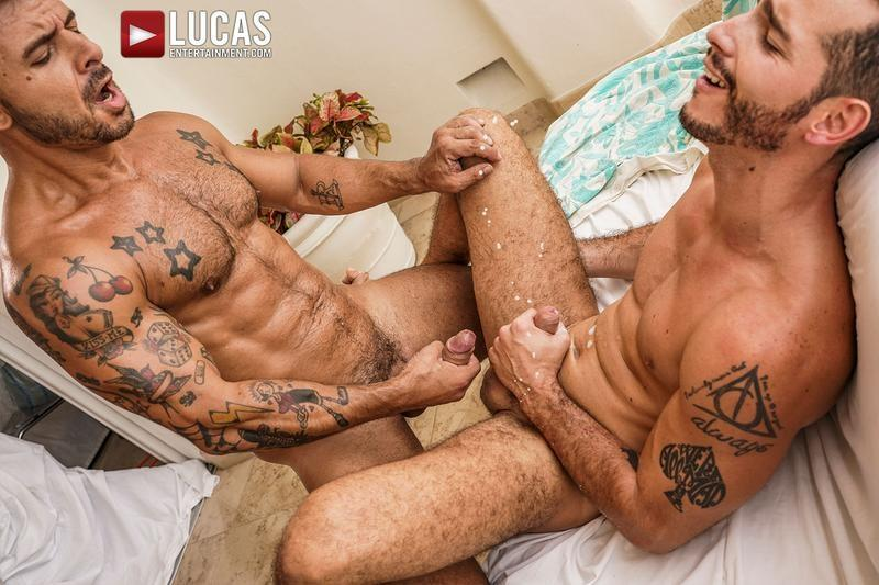 Sexy smooth muscle dude Ricky Hard Rudy Gram flip flop anal fuck fest Lucas Entertainment 29 image gay porn - Sexy smooth muscle dude Ricky Hard and Rudy Gram flip flop anal fuck fest at Lucas Entertainment