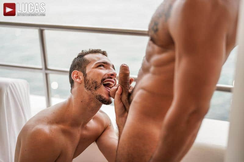 Sexy smooth muscle dude Ricky Hard Rudy Gram flip flop anal fuck fest Lucas Entertainment 8 image gay porn - Sexy smooth muscle dude Ricky Hard and Rudy Gram flip flop anal fuck fest at Lucas Entertainment